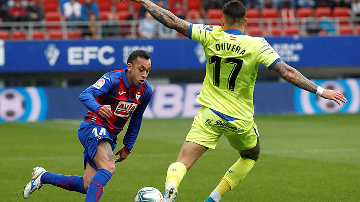 Fabián Orellana recibe duro castigo tras ser expulsado en la Liga... Revisa lo que le dijo al árbitro, según el informe