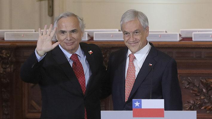 """Presidente Piñera expresa su """"apoyo, cariño y solidaridad"""" hacia Chadwick tras aprobación de acusación constitucional"""
