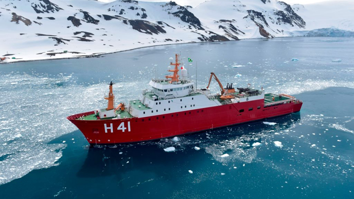 """""""Almirante Maximiano"""", el rol del buque brasileño en la jornada en que la operación de búsqueda encontró restos del C-130"""