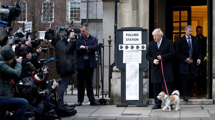 Las imágenes que ha dejado una jornada de elecciones en el Reino Unido marcada por el Brexit