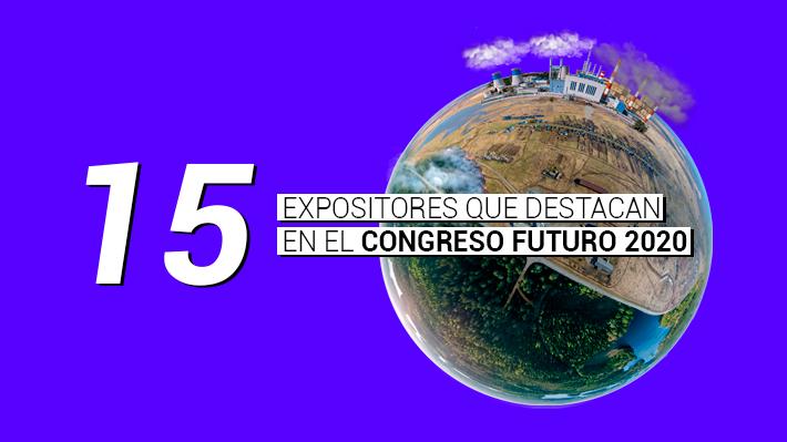 Una chilena y otros 14 expositores destacan dentro del próximo Congreso Futuro: ¿Quiénes tomarán el micrófono en 2020?