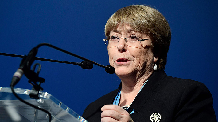 "Informe de ONU sobre Chile: Bachelet llama a ""mirar de manera constructiva hacia adelante"""