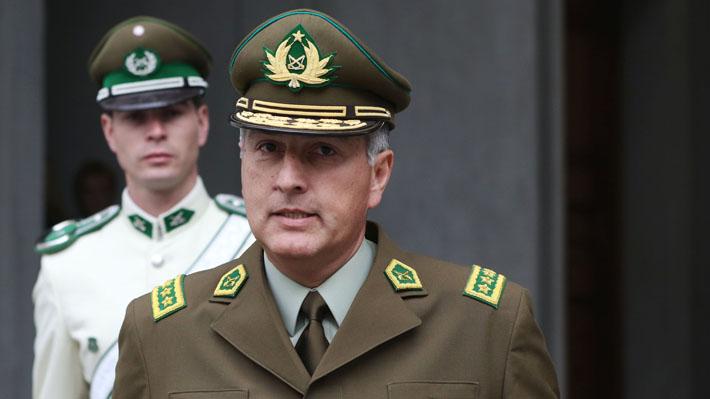 """General Rozas por carabineros lesionados en la RM: """"Me sorprende el grado de violencia con el que nos están atacando"""""""