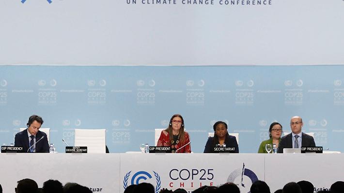 COP25 apura las negociaciones para alcanzar un acuerdo tras mayoritario rechazo a documento presentado por Chile