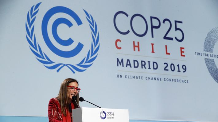 """COP25: Ministra Schmidt valora acuerdo, pero afirma que """"no estamos satisfechos"""""""