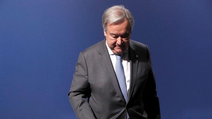 """Guterres dice estar """"decepcionado"""" por el acuerdo alcanzado en la COP25 y lamentó la """"oportunidad perdida"""""""