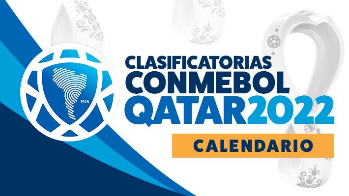 Así quedó el calendario para las Clasificatorias de Sudamérica para el Mundial de Qatar 2022