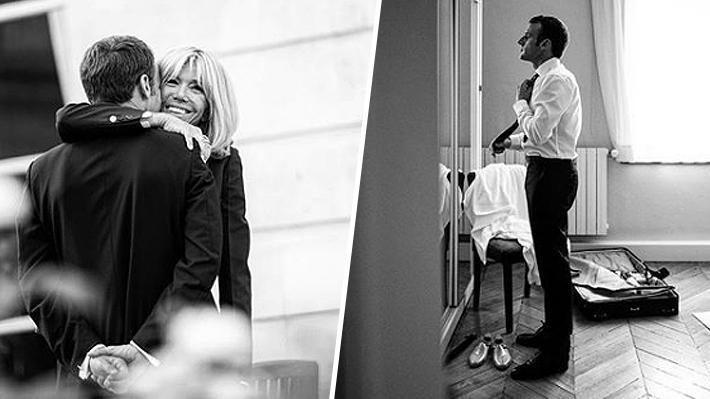 Cómo la fotógrafa de Emmanuel Macron ha logrado retratar momentos íntimos y personales del Presidente francés