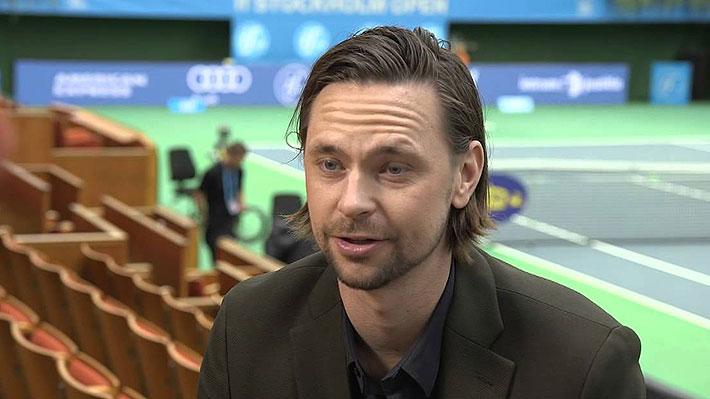 Fue 4 del mundo y jugó una dramática semifinal con González en R.Garros: El nuevo capitán de Suecia, rival de Chile en la Davis