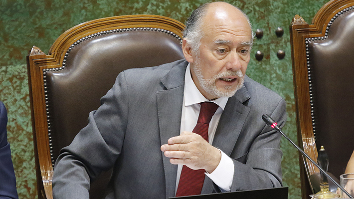 """Presidente de la Cámara y petición de censura hecha por Chile Vamos: """"Tengo la conciencia tranquila"""""""