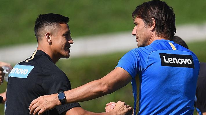 """""""Está mordiendo el freno""""... La particular frase con que DT del Inter se refirió a Alexis Sánchez"""