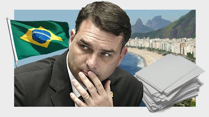 Por qué está siendo investigado en Brasil el hijo senador del Presidente Jair Bolsonaro