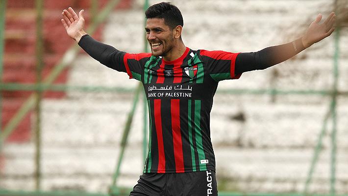 Una opción menos para Colo Colo: Palestino aseguró la continuidad del goleador Lucas Passerini