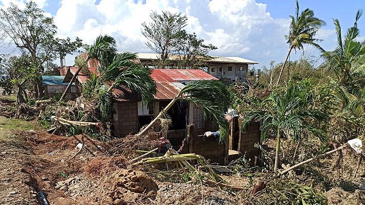 Ascienden a 28 los fallecidos a causa del tifón Phanfone en Filipinas