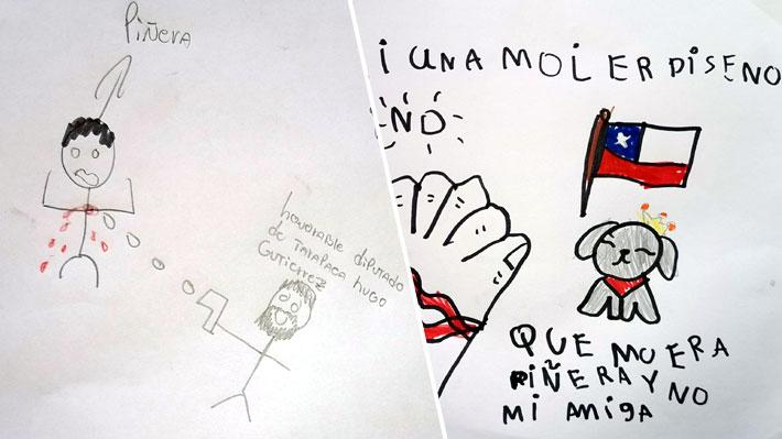 """Defensora de la Niñez denunciará ante la Justicia los dibujos compartidos por Hugo Gutiérrez: """"Evidencia vulneración"""""""