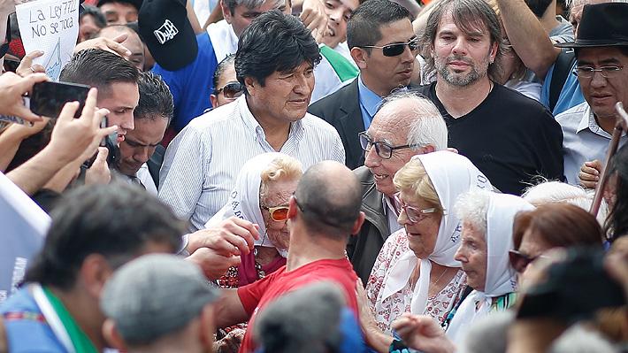 """EE.UU. pide a Argentina que garantice que Evo Morales """"no abuse de su estatus"""" de refugiado"""