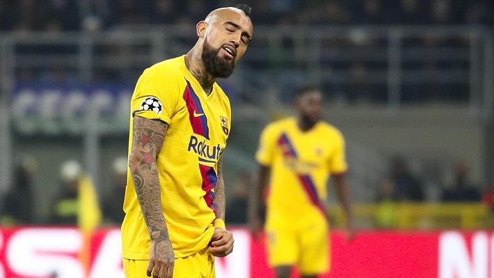 Revelan que Vidal habría denunciado al Barcelona por premios impagos y el club acusa que es una maniobra para forzar su salida