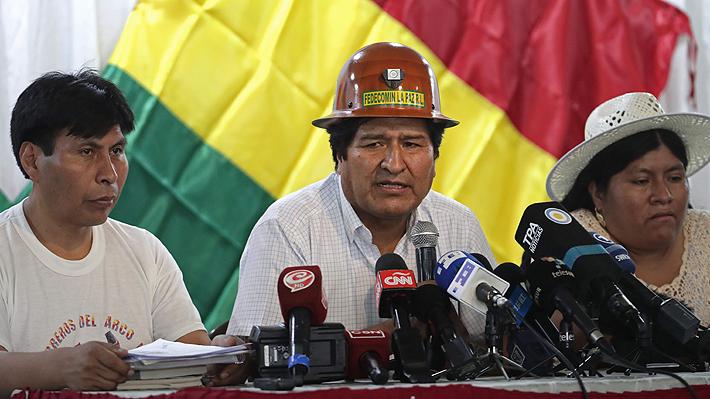 Evo Morales liderará desde Buenos Aires proceso para elegir al candidato del MAS para presidente de Bolivia