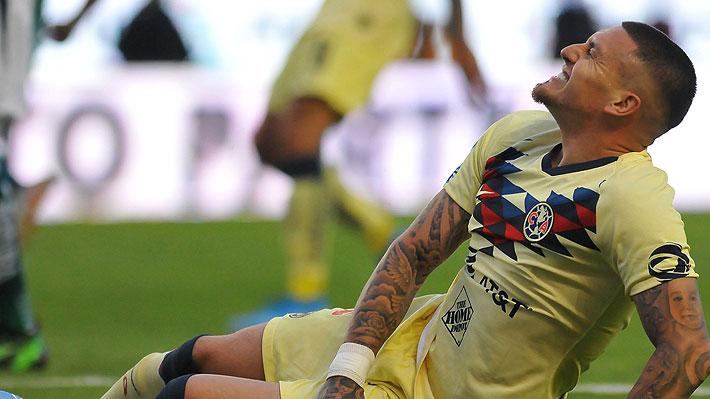 """En México destrozaron a Nicolás Castillo tras su penal errado y piden su """"salida urgente"""" del América"""
