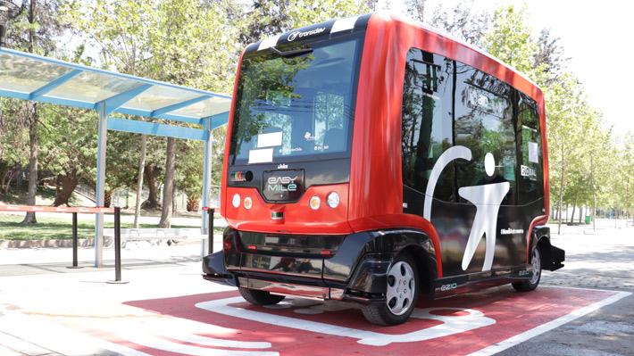 Llega a Chile el primer vehículo autónomo que operará en América Latina