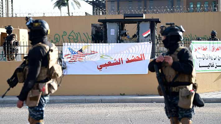 Embajada de EE. UU. en Irak suspende sus actividades hasta nuevo aviso