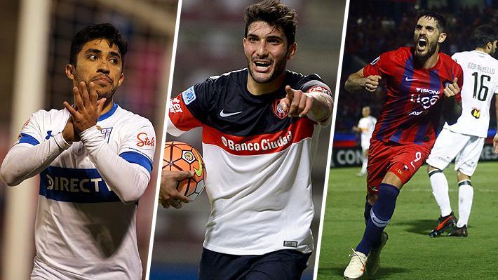 """Lo que siguen buscando los tres """"grandes"""" del fútbol chileno tras los fichajes ya anunciados"""
