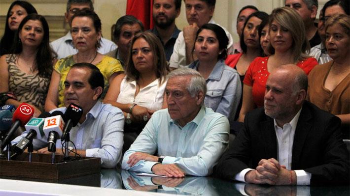 Convergencia Progresista llama a la unidad de la oposición tras presentar comando para plebiscito constitucional
