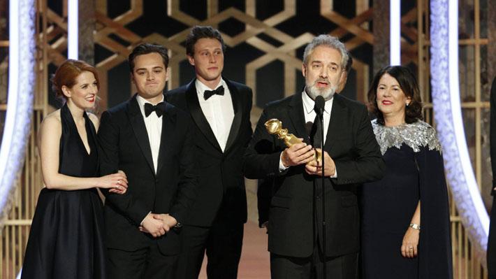 """""""1917"""" y """"Había una vez en Hollywood"""" brillan en los Globos de Oro 2020"""