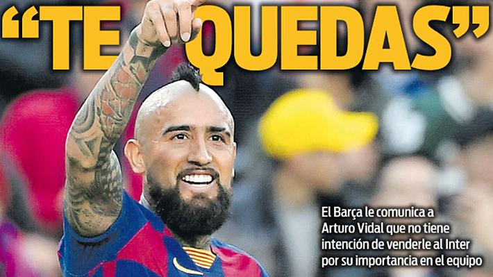 """""""Arturo Vidal, intocable""""... Barcelona lo blinda y Valverde lo habría convencido de no partir"""