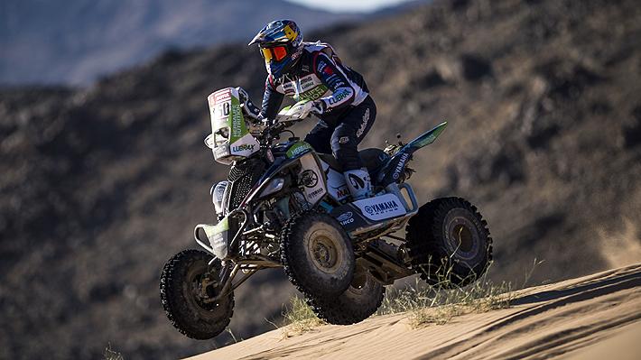 Casale está intratable en el Dakar 2020... Gana otra vez la etapa en quads y saca más de 9 minutos en la General