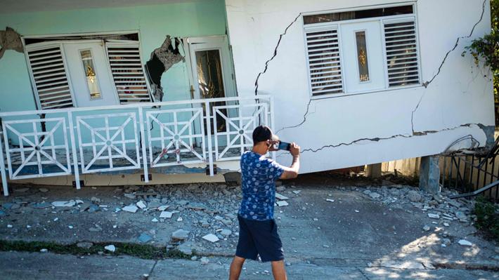Galería: Los daños que dejaron los fuertes sismos que han afectado a Puerto Rico