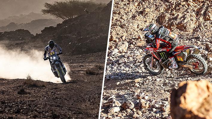 Dakar reconoce error en los GPS y cambia toda la clasificación de las motos: Mejora Quintanilla, pero baja Cornejo en la General