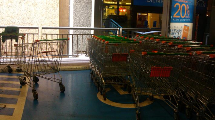 Hasta 1,5 UTM será la multa para quienes se estacionen en espacios para vehículos de personas en situación de discapacidad