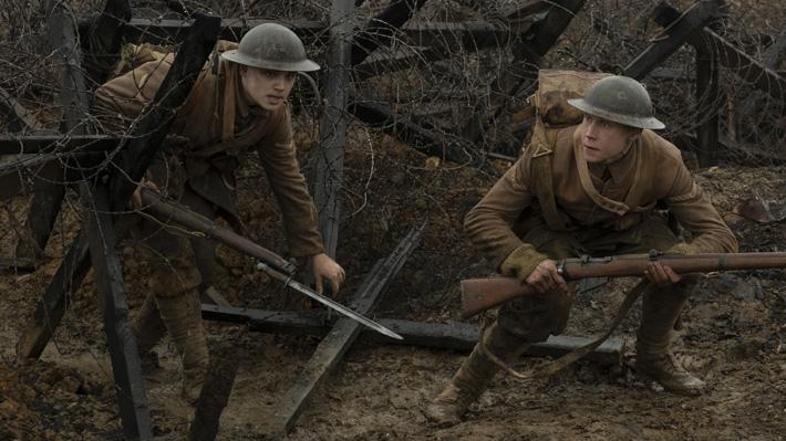 """""""1917"""", una inquietante historia ambientada en una misión de vida o muerte en la Primera Guerra Mundial"""