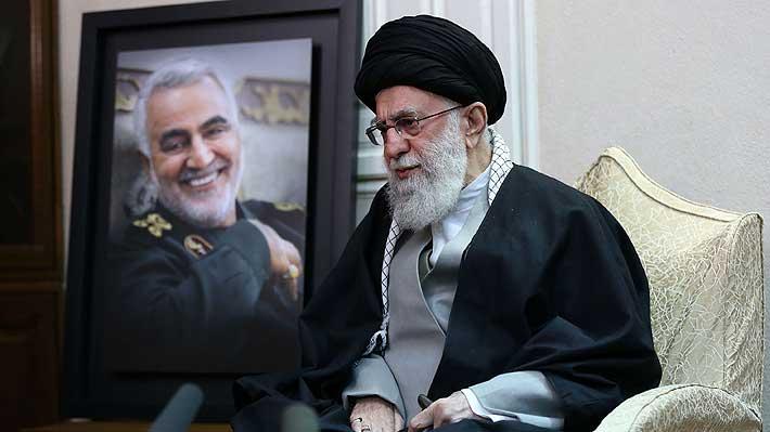 """Líder supremo iraní: Ataque a base militar de EE.UU. """"no es suficiente"""", hay que expulsar al país de la región"""