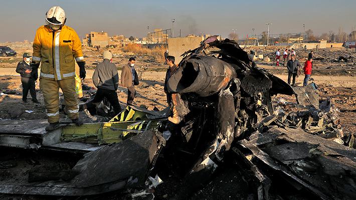 Irán afirma que no entregará a EE.UU. las cajas negras del avión comercial estrellado en su territorio