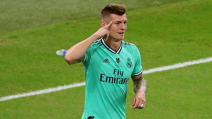 ¿Talento o error del portero? Mira el golazo olímpico que anotó Toni Kroos para el Madrid en la Supercopa de España