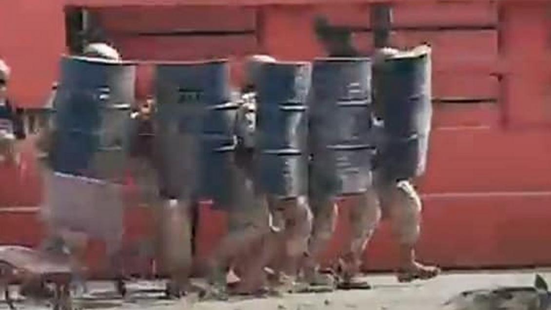 """Ejército tilda de """"injustificado"""" ataque a cuartel de San Fernando y asegura que se usó armamento no letal"""