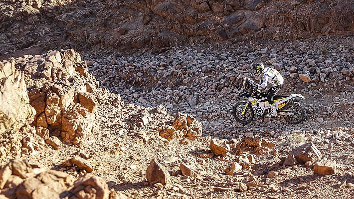 Quintanilla firma su mejor etapa en este Dakar con una tremenda carrera y una fuerte caída saca a uno de los favoritos