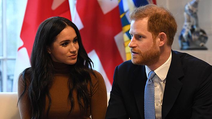 """""""Megxit"""" y una familia real """"decepcionada"""": Las reacciones al anuncio de Harry y Meghan de dar un paso atrás en sus cargos"""