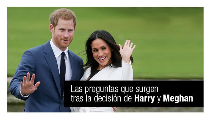 ¿Dónde vivirán? ¿Qué pasará con sus títulos? Las preguntas tras la decisión de Harry y Meghan de alejarse de la familia real