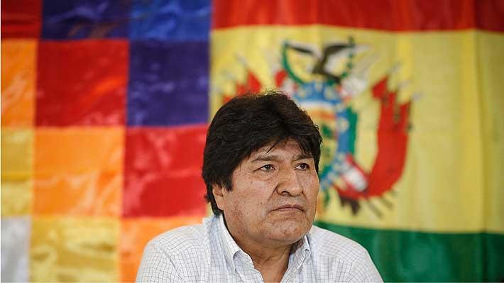 Evo Morales no asistirá a foro de DD.HH. en Chile tras orden de apremio internacional