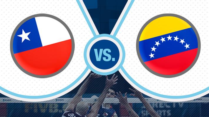 Reviva el tremendo partido entre Chile y Venezuela en el Preolímpico de vóleibol