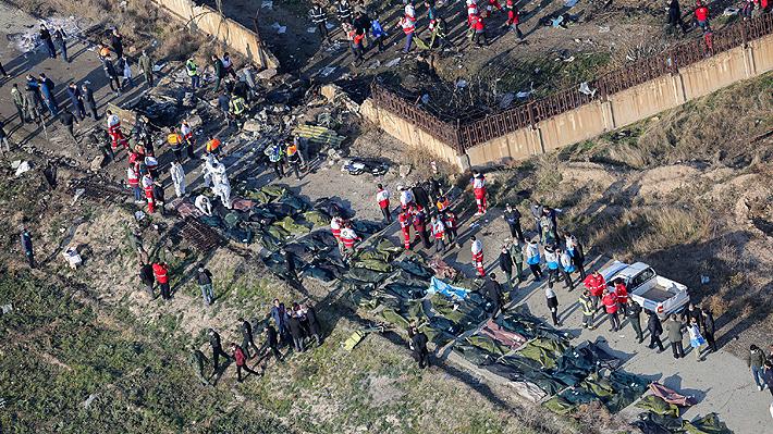"""Irán admite que su Ejército derribó avión de pasajeros ucraniano con un misil y lo atribuye a un """"error humano"""""""