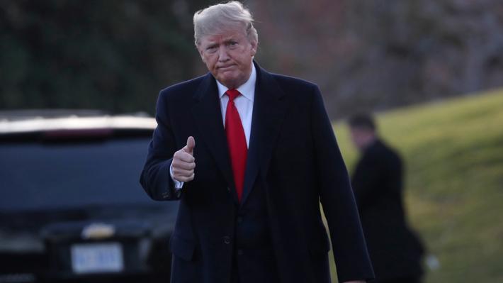 Trump justifica asesinato de Soleimani y asegura que Irán preparaba ataques contra cuatro embajadas de Estados Unidos