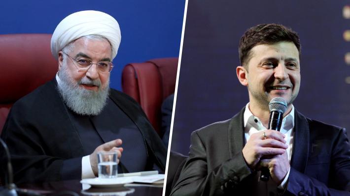 Presidente de Irán ofrece disculpas a su par ucraniano por derribo de avión con 176 personas a bordo