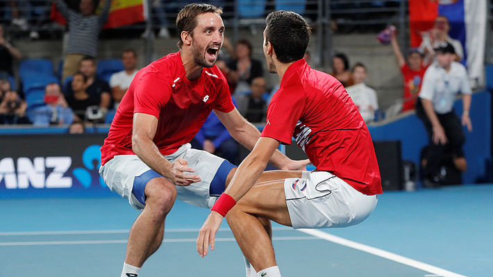 Djokovic y Serbia remontan ante la España de Nadal y se quedan con la primera edición de la ATP Cup