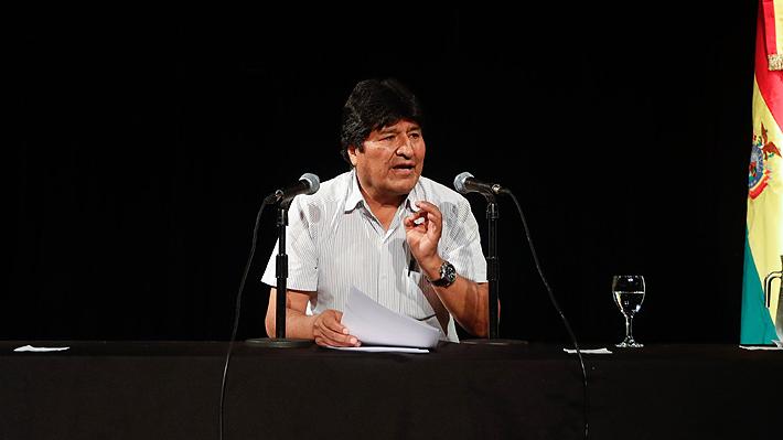 """Evo Morales convoca a imitar a Venezuela y """"organizar milicias armadas"""" si es que retorna a Bolivia"""