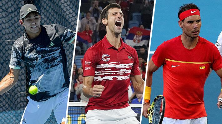 Ranking ATP: Los chilenos pierden puestos, Djokovic se acerca a Nadal en el N°1 y hay varios cambios en el top 10