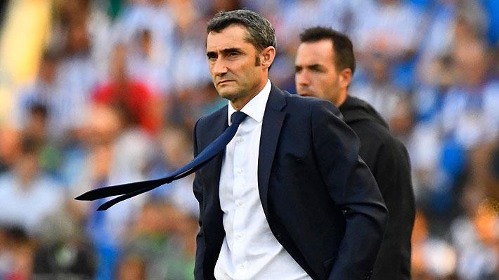 """Los factores que tendrían la continuidad de Valverde en el Barcelona """"seriamente amenazada"""""""